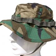 Kapelusz US Jungle Hat Woodland ripstop